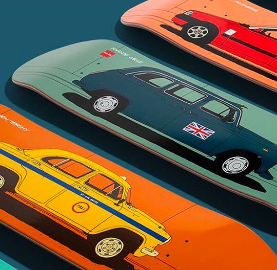 World Taxi Series Evan Hecox Chocolate Skateboards 12