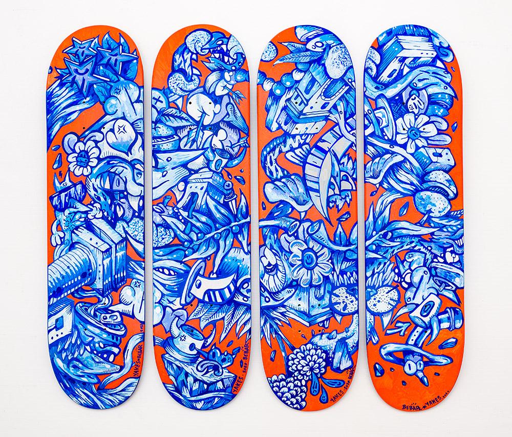 Manuals Skateboards Par Yakes X Bebar 1