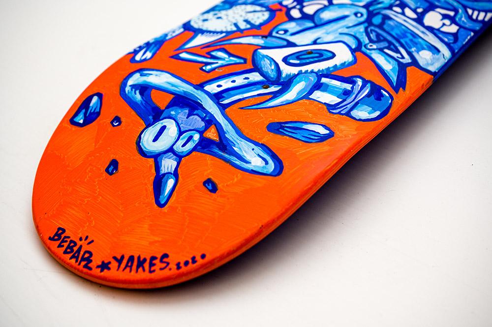 Manuals Skateboards Par Yakes X Bebar 6
