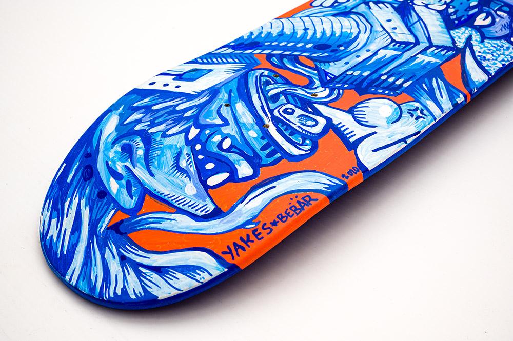 Manuals Skateboards Par Yakes X Bebar 7