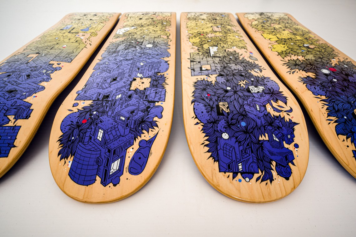Passage Skateboards By Wenc 5