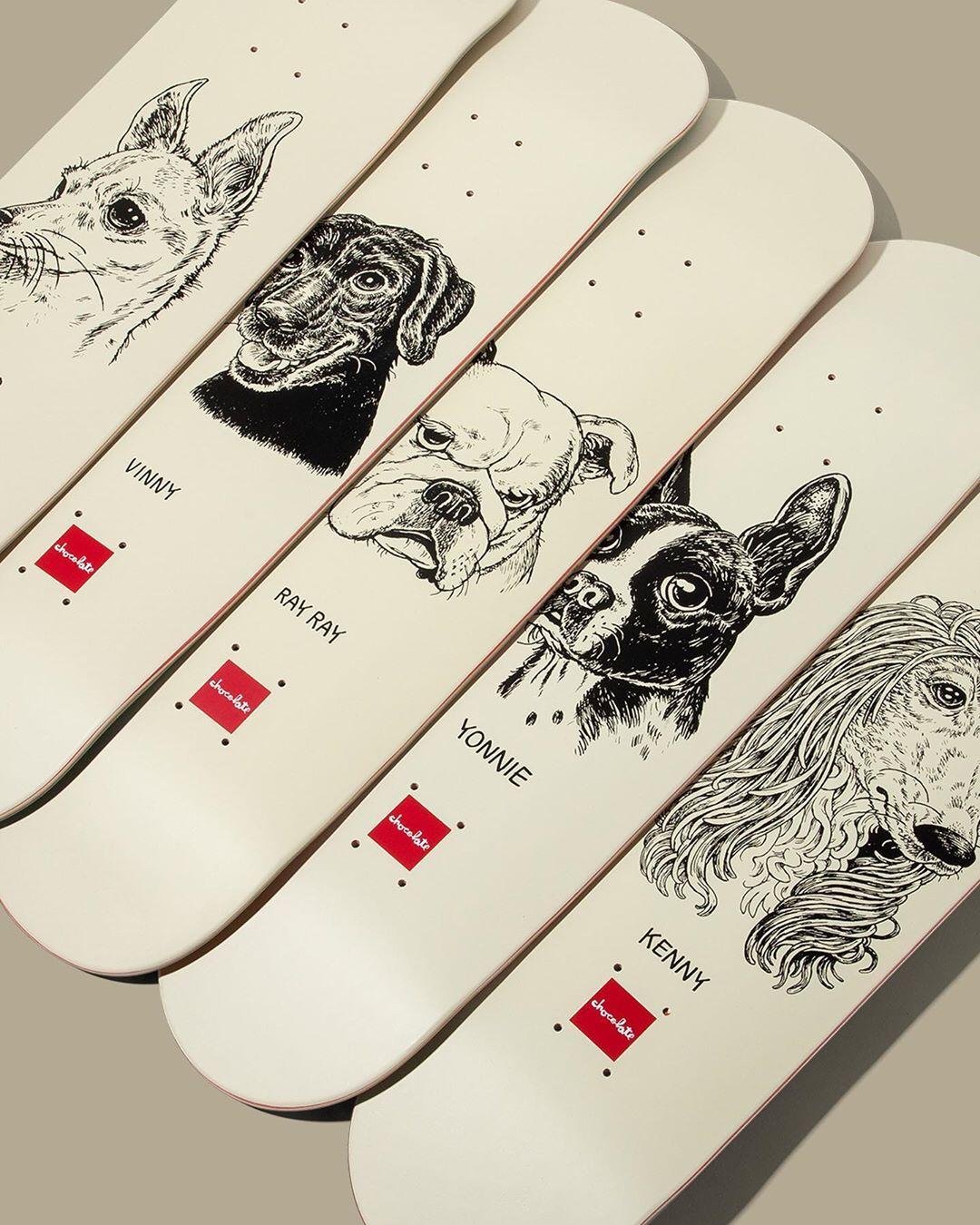 Big Dawgs Series By Travis Millard X Chocolate Skateboards 1.jpg