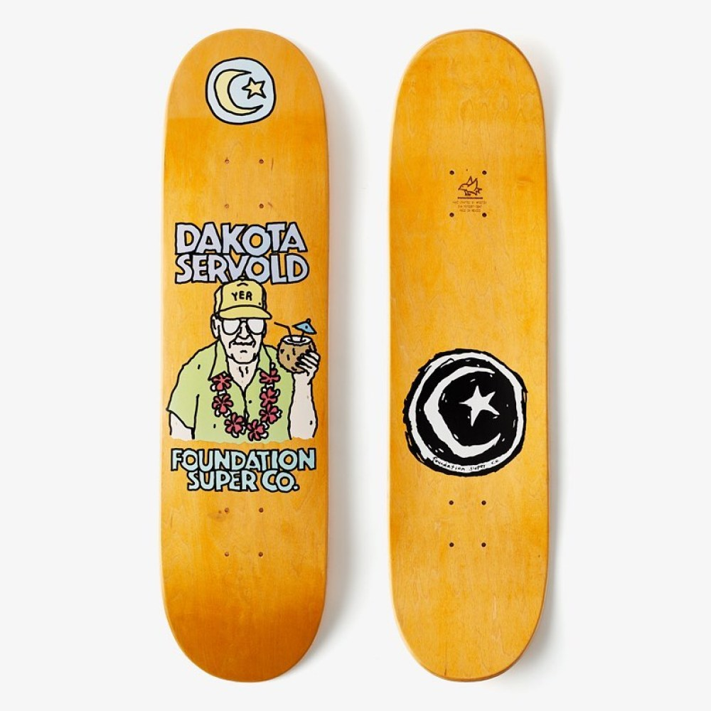 Old Guys Series By Brother Merle X Foundation Skateboards 4