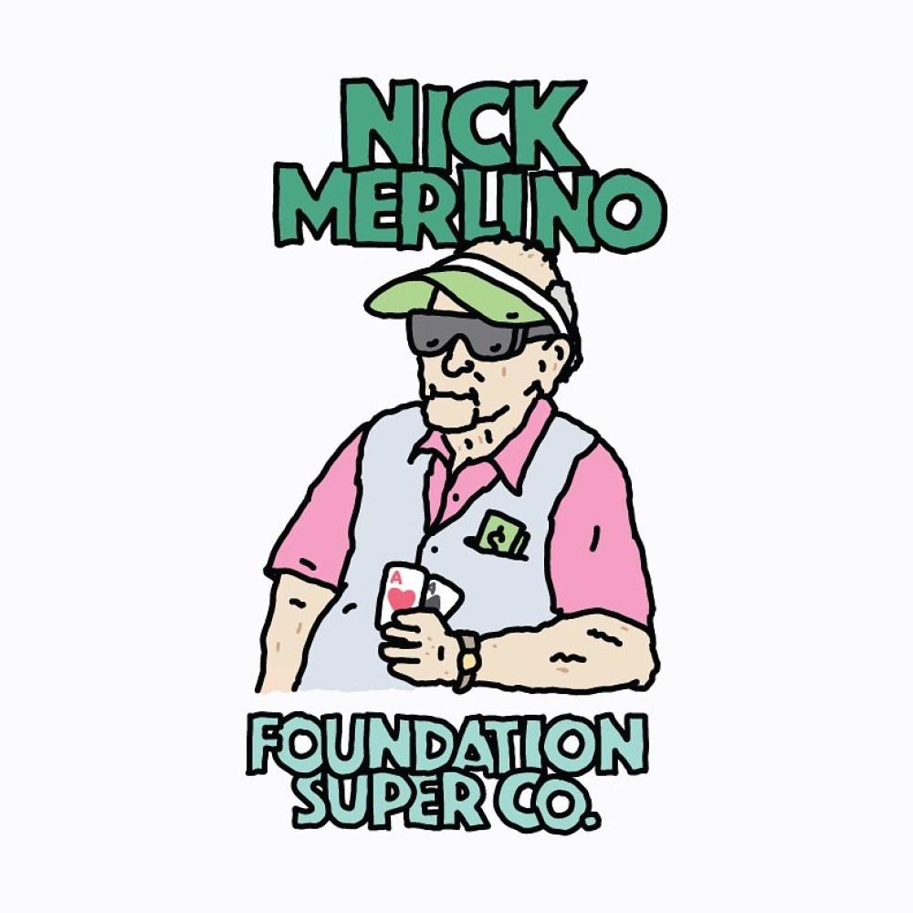 Old Guys Series By Brother Merle X Foundation Skateboards 9