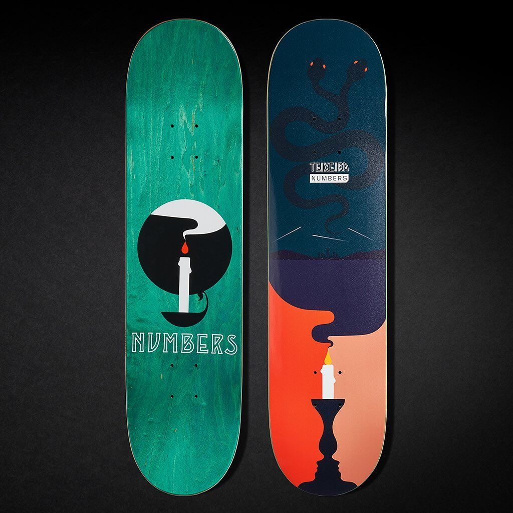6 Series By Greg Ito Numbers Skateboards 2