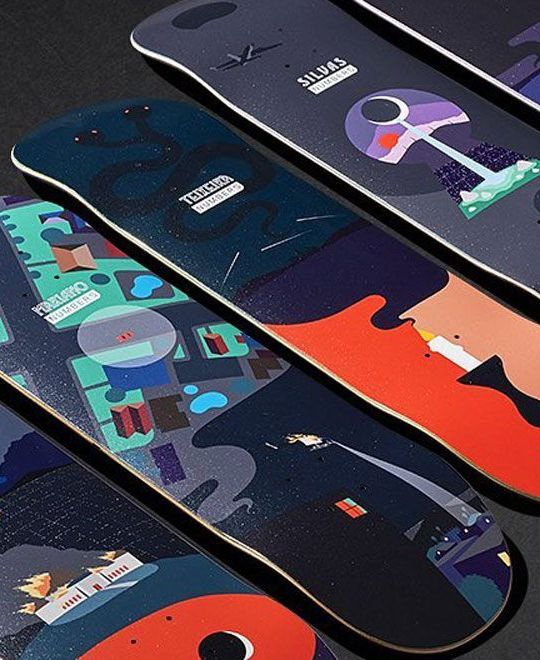 6 Series By Greg Ito Numbers Skateboards