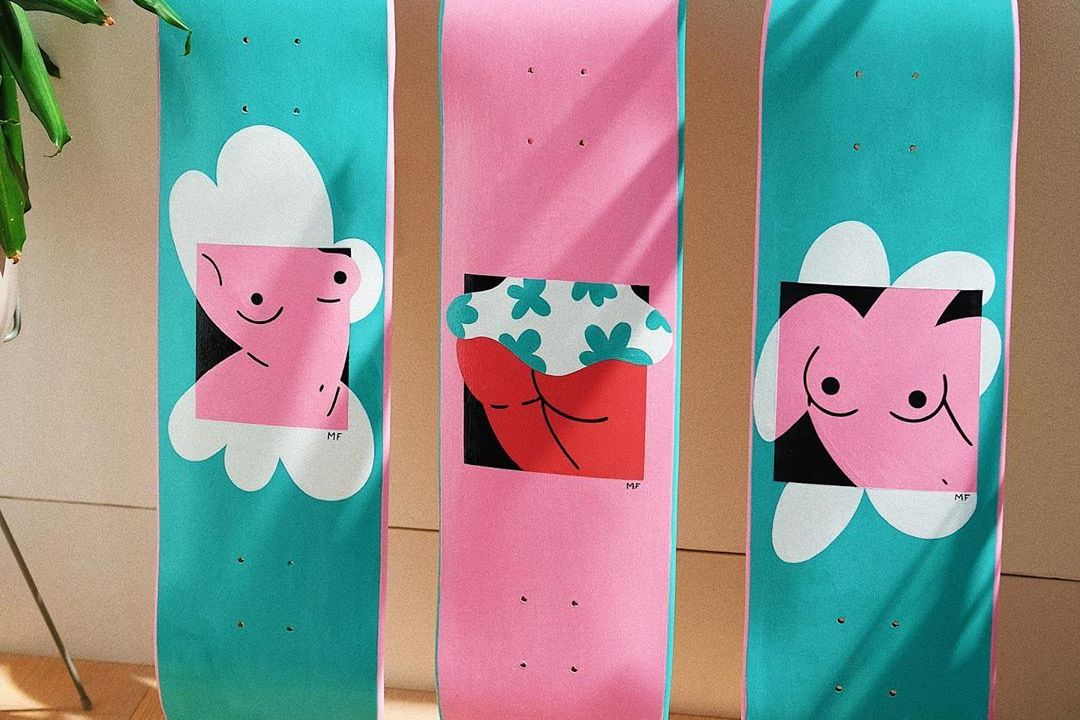 Custom Skateboards By Marylou Faure 2
