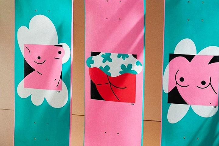 Custom Skateboards By Marylou Faure