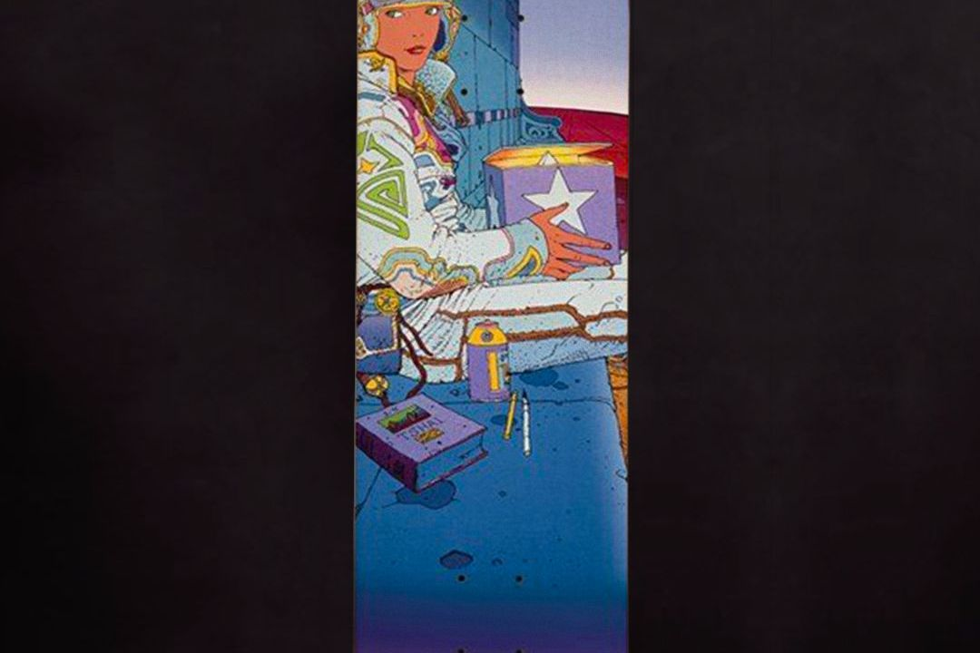 Moebius X Primitive Skateboards 12