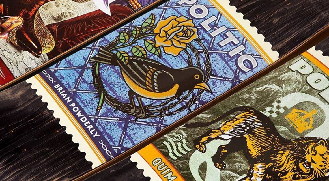 Stamp Series By Politic Skateboards
