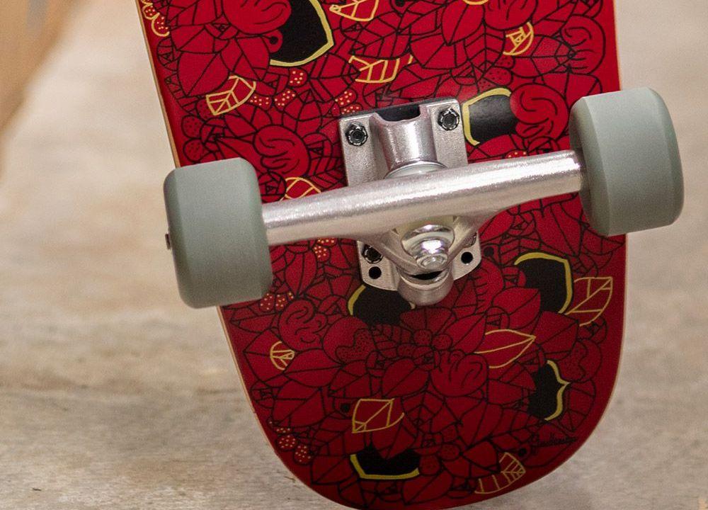 Noir De Rouge Custom Board Par Pierre Guillonneau 5