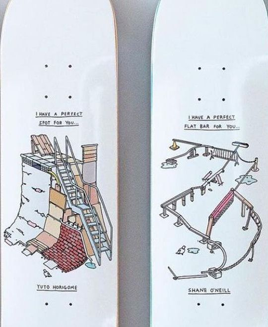 Perfect Spots Series By Brother Merle X April Skateboards