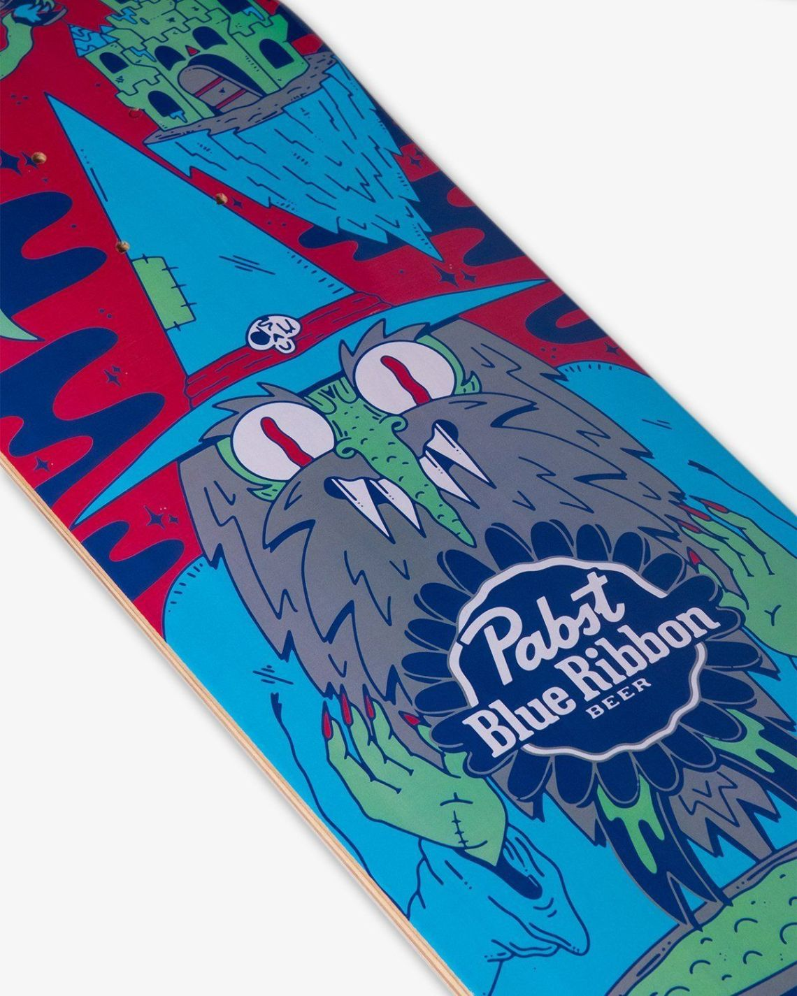 Ride With The Wizard Skateboard By Dakota Cates For Pabst Blue Ribbon 2