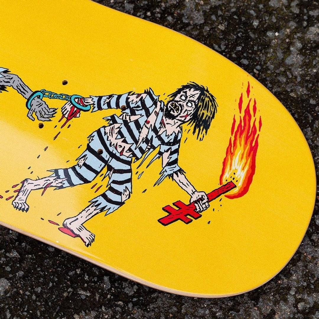 Jj Villard X Deathwish Skateboard 6