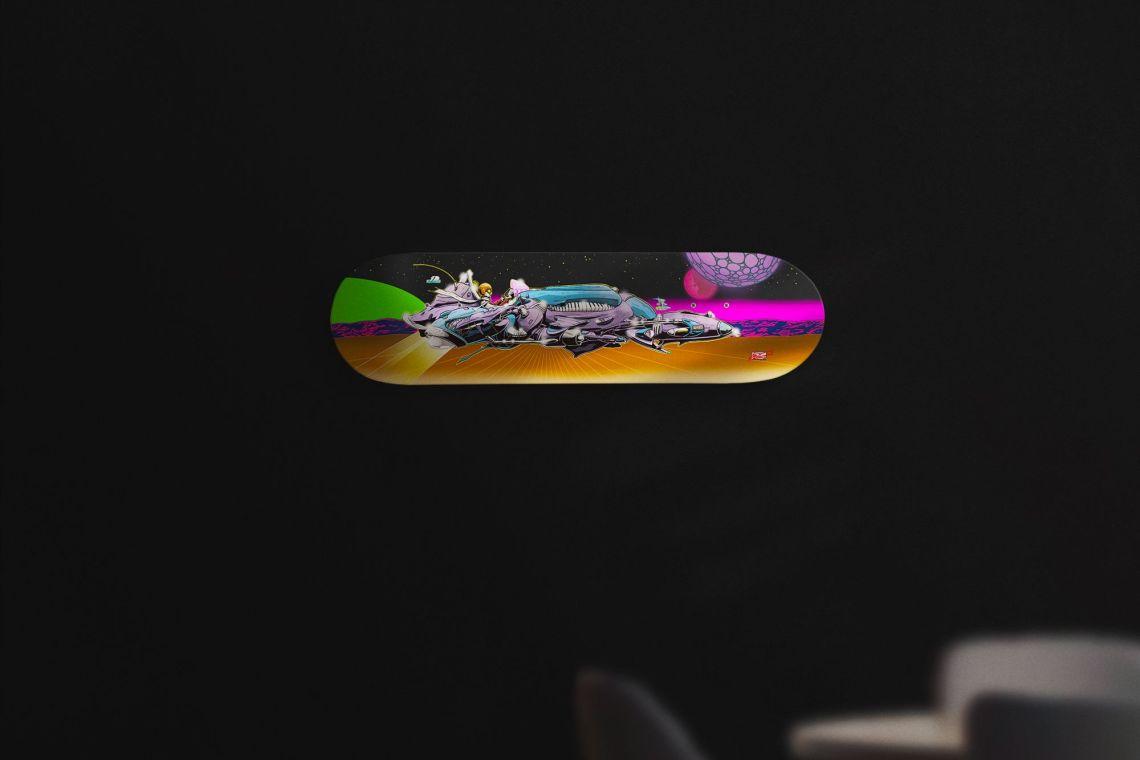 Loodz X Arkaic Concept For Spraying Board 2