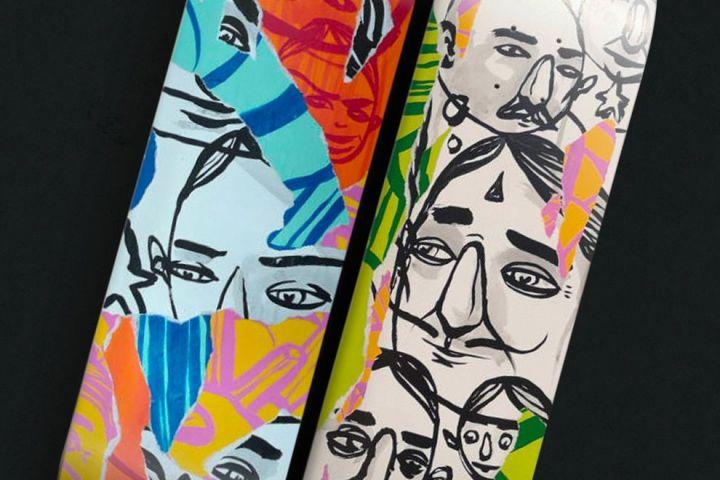 Unique 1 And 2 Skateboards By Sea Creative Bonobolabo 1