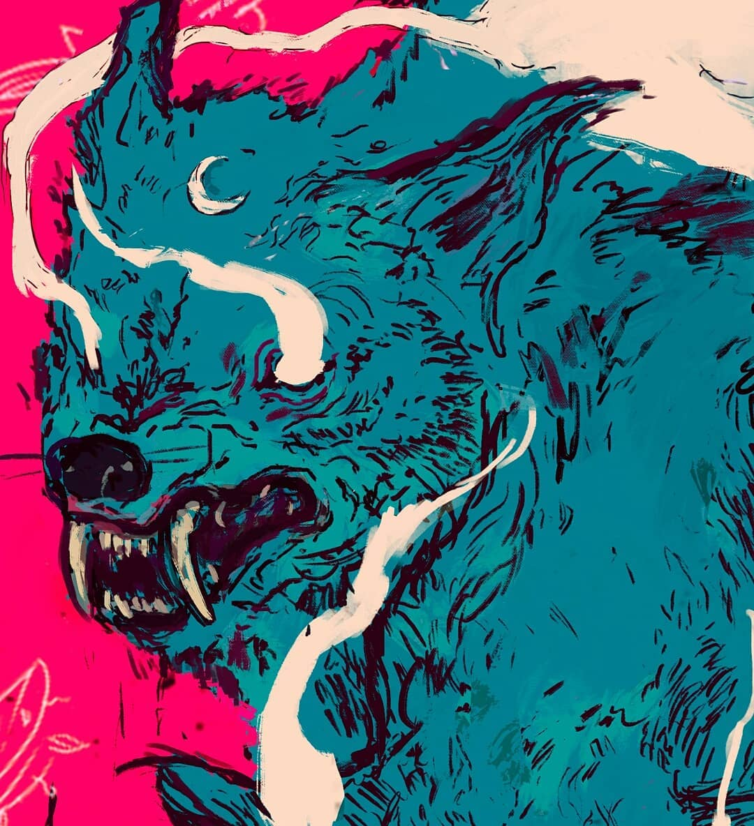 Wolf Pack Deck By Miguel Nogueira Wanderlust Boards 2