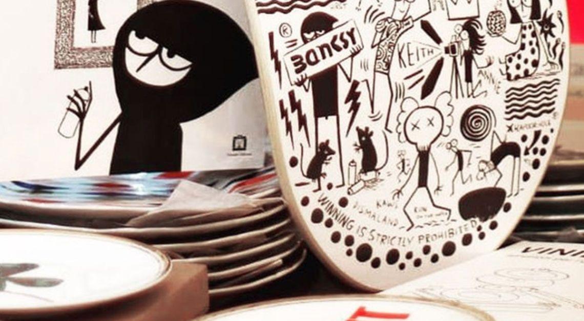 Dead Artist Walking Skateboard By Fausto Gilberti X Bonobolabo