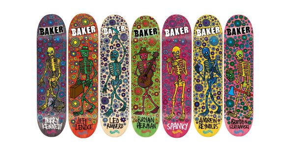 Mark Fos Foster Skateboard Graphics 2