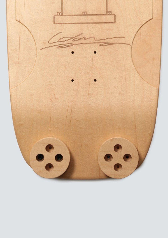 Haroshi X Tendo Mokko Skateboard Deck 12