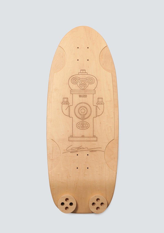 Haroshi X Tendo Mokko Skateboard Deck 14