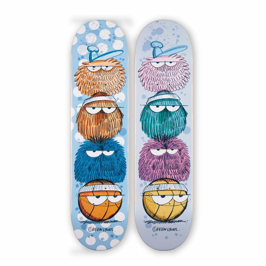 Kevin Lyons X 1xrun Skateboard Decks 4