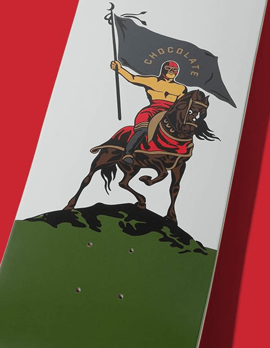 Luchador Deck Par Ben Peterson X Chocolate Skateboards.9
