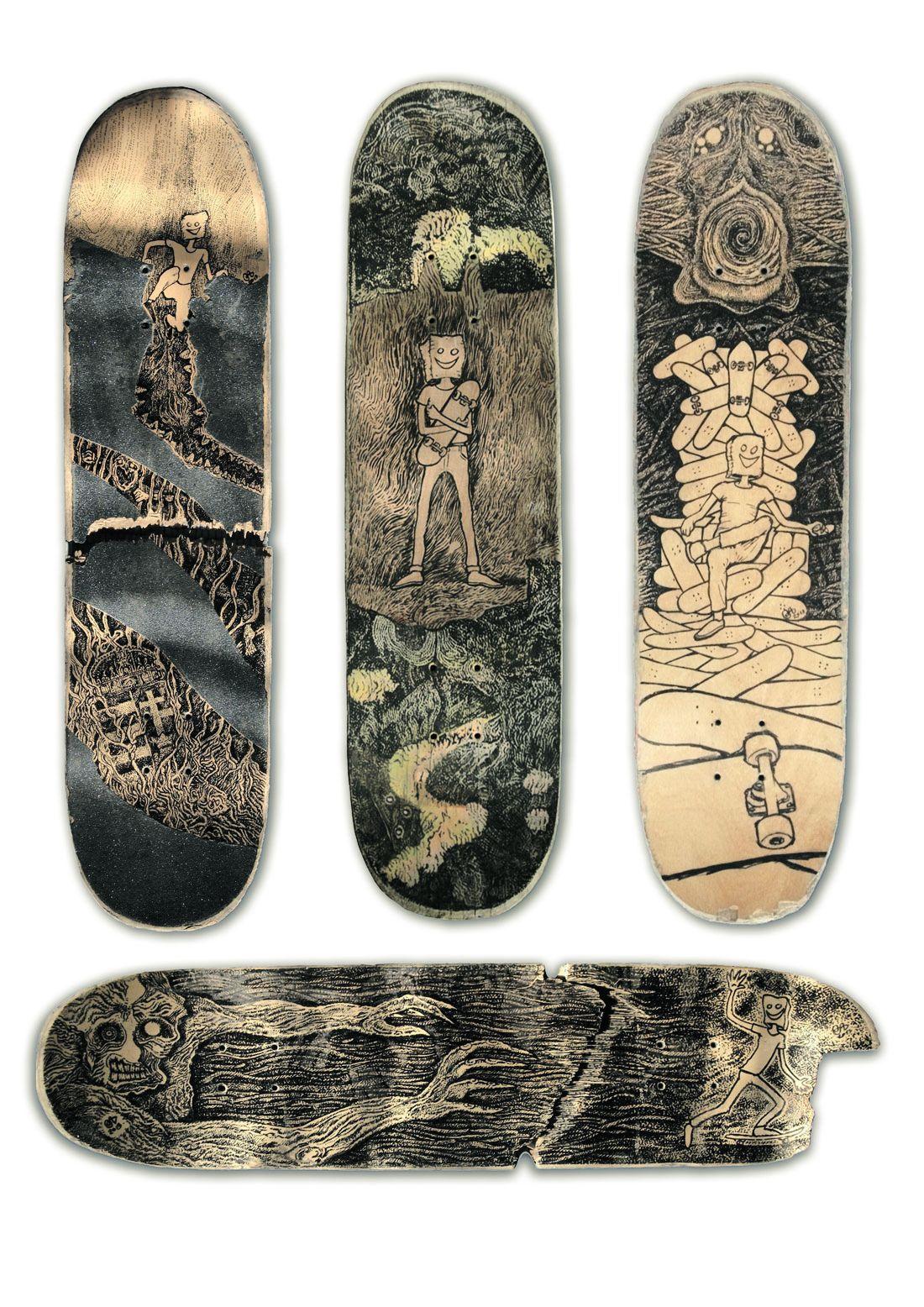 Mythology Of Self Custom Boards By Jager Attila 7