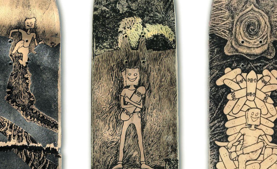 Mythology Of Self Custom Boards By Jager Attila