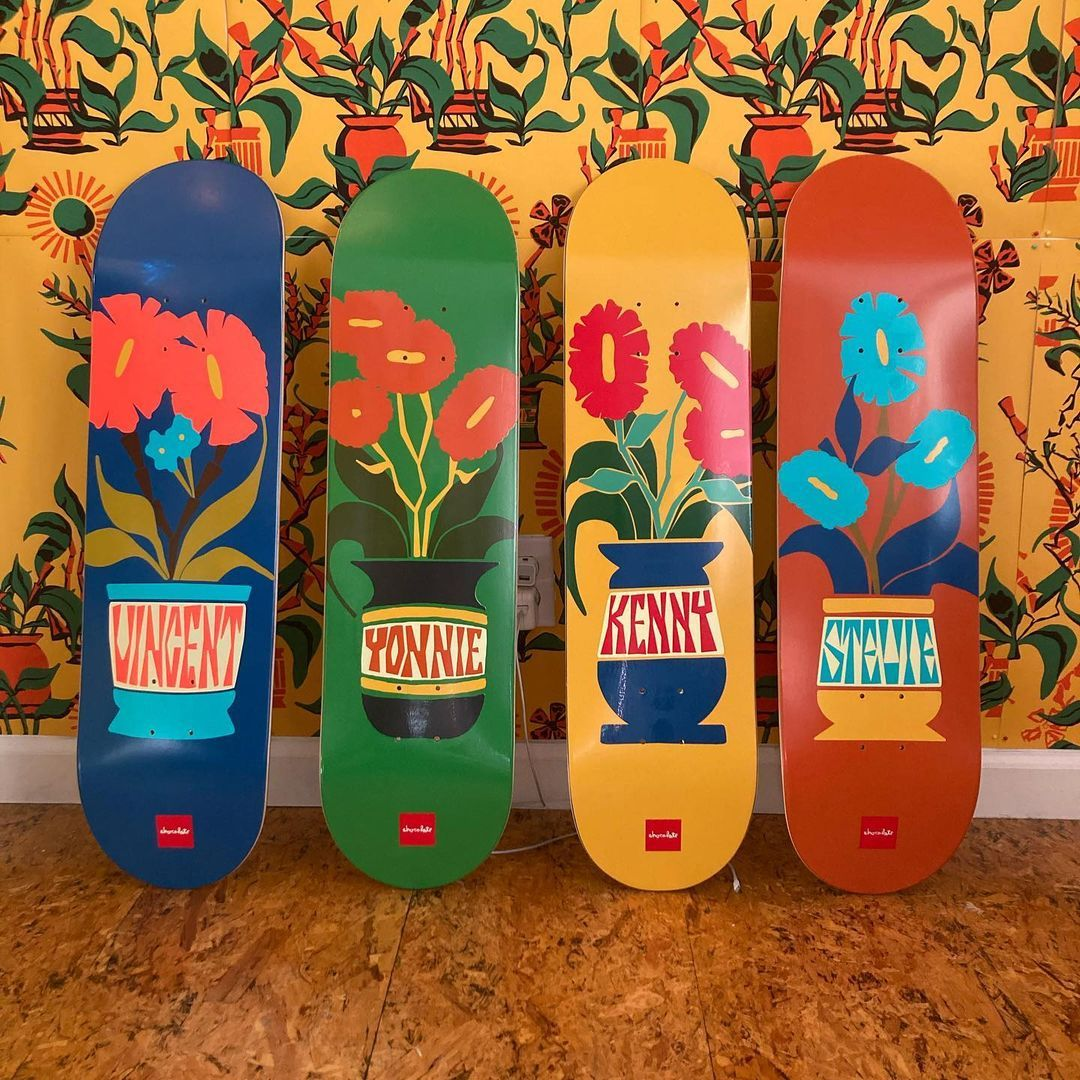 Plantasia Series Par Ben Peterson X Chocolate Skateboards.1