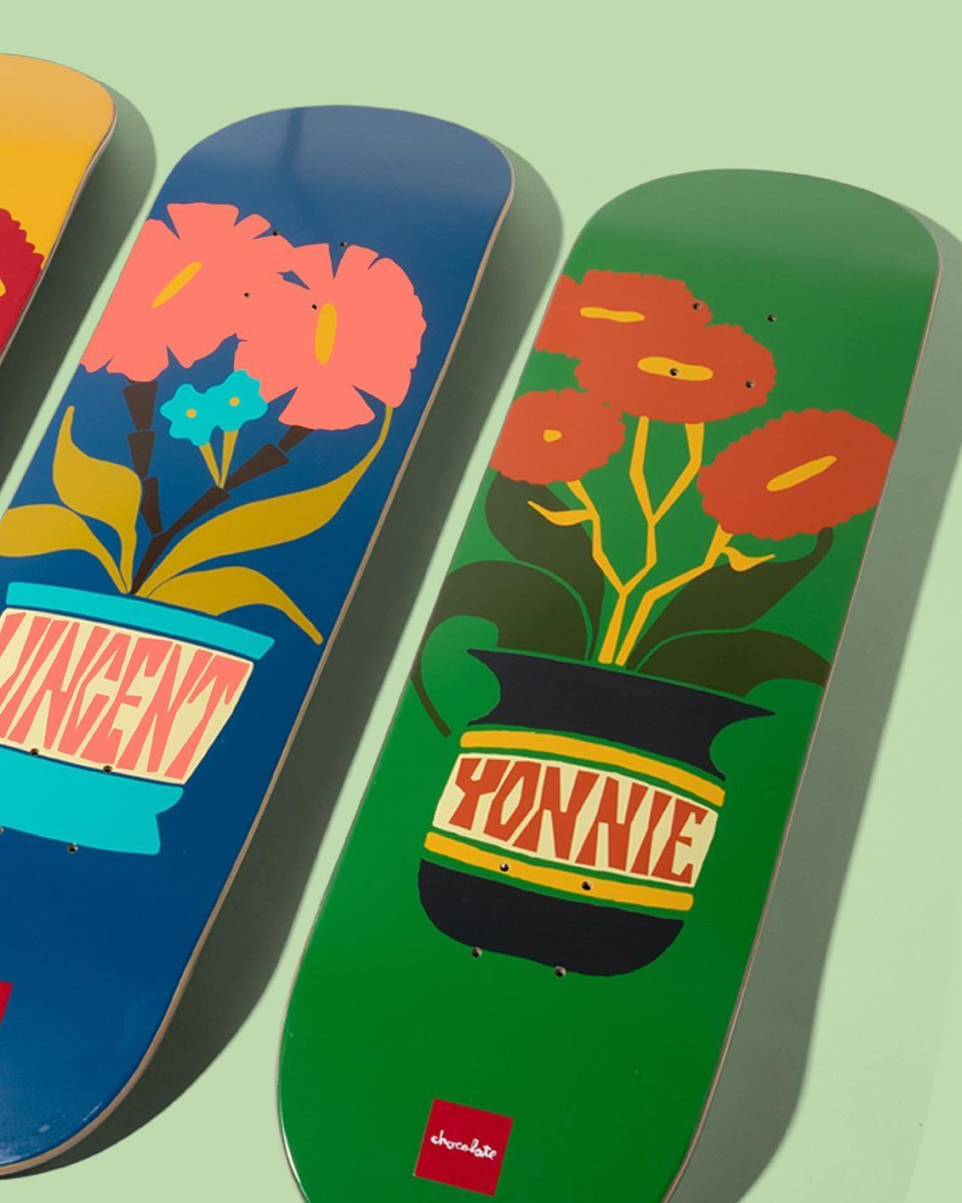 Plantasia Series Par Ben Peterson X Chocolate Skateboards.3