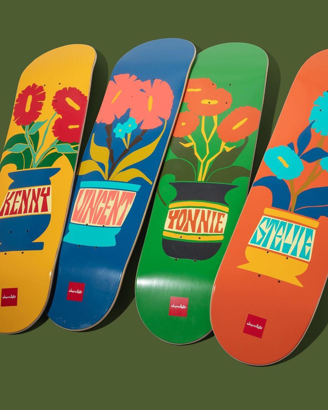 Plantasia Series Par Ben Peterson X Chocolate Skateboards.5