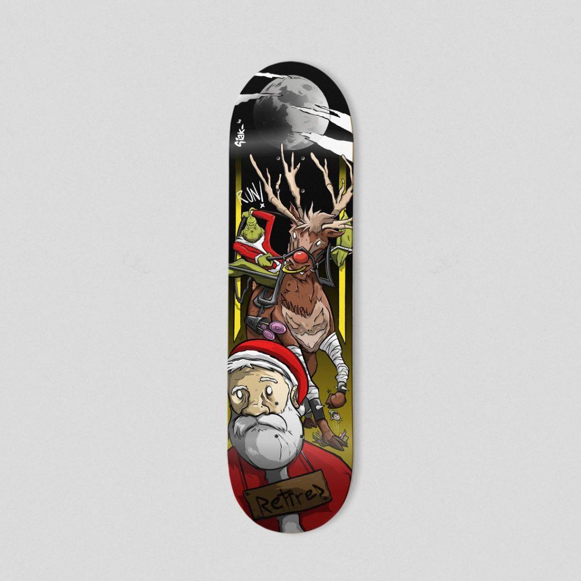 Retired Skateboard By Theevilart X Bonobolabo 2