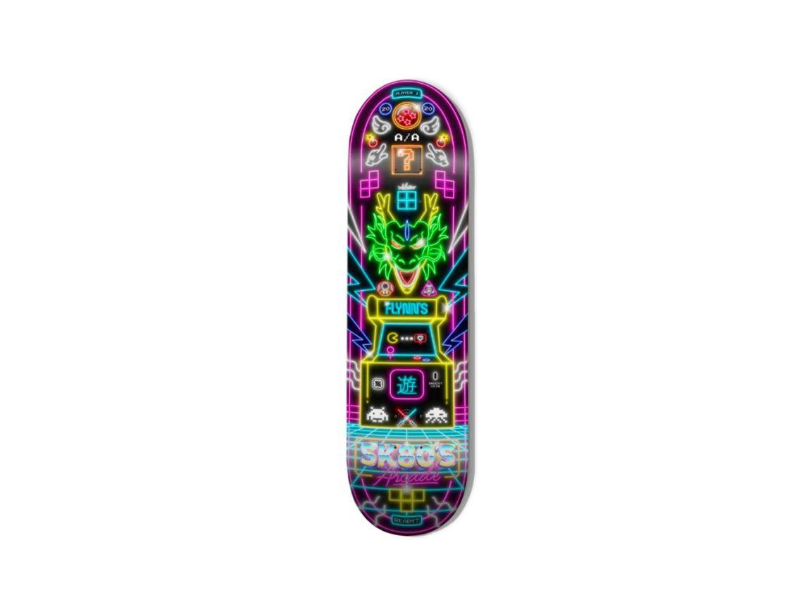 SK80S Skateboard By Alessio Azzolini X Bonobolabo 1