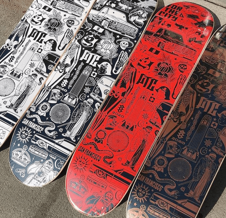 Mike Giant X FTC Skateshop Skate Series.4