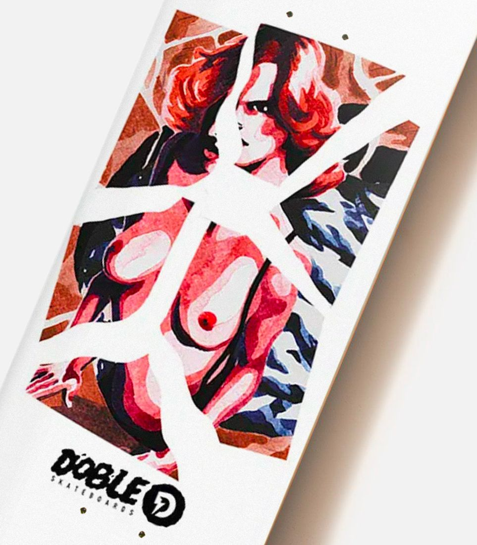 Aquarelle Series By Quentin Caillat X Doble Skateboards 5