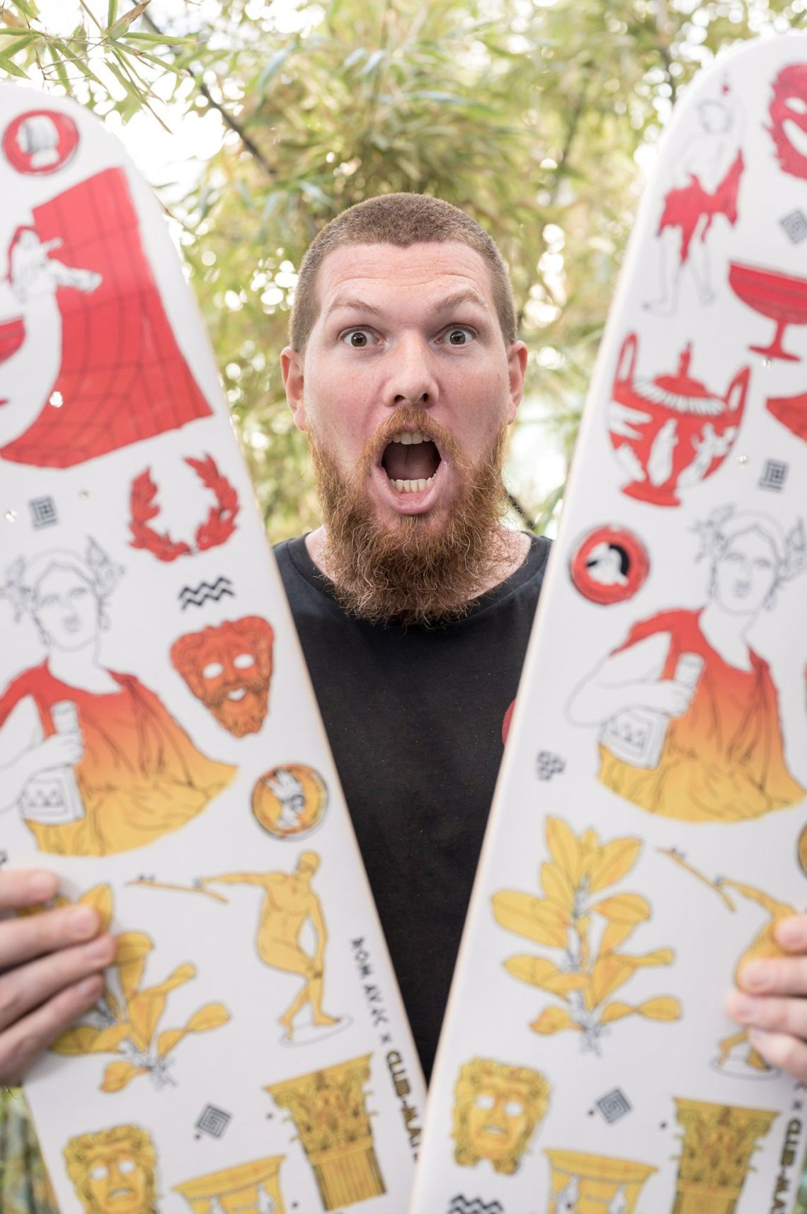 Clubmate X RomAvJC X The Daily Board Skateboard 12