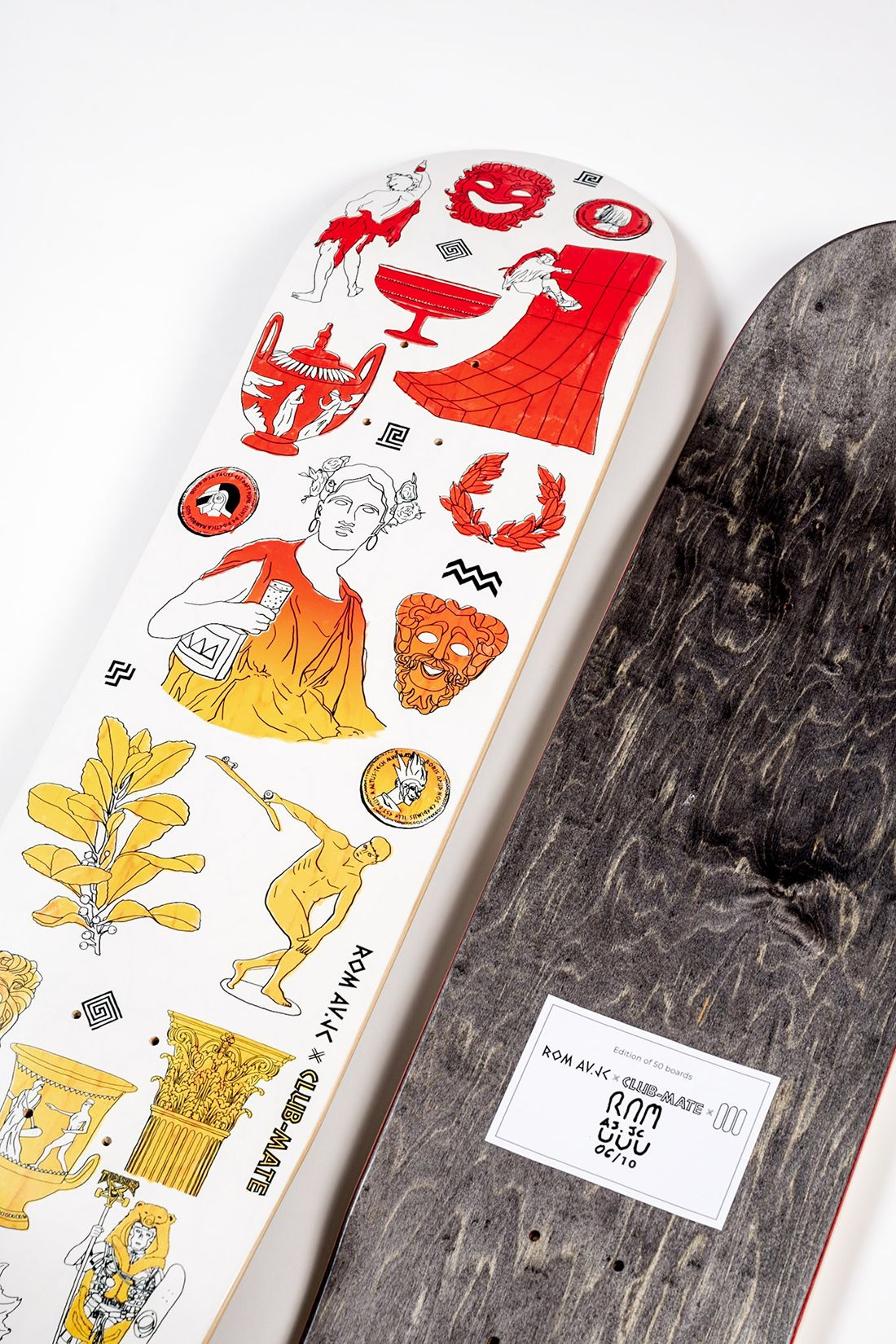 Clubmate X RomAvJC X The Daily Board Skateboard 2