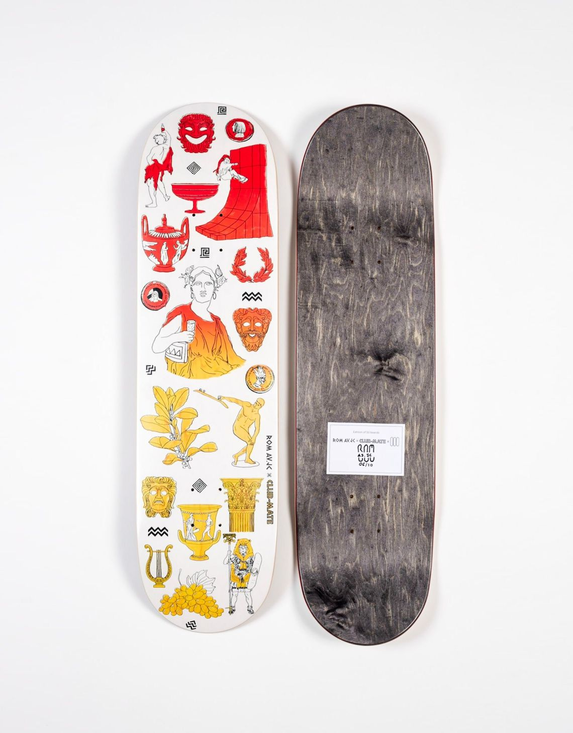 Clubmate X RomAvJC X The Daily Board Skateboard 4