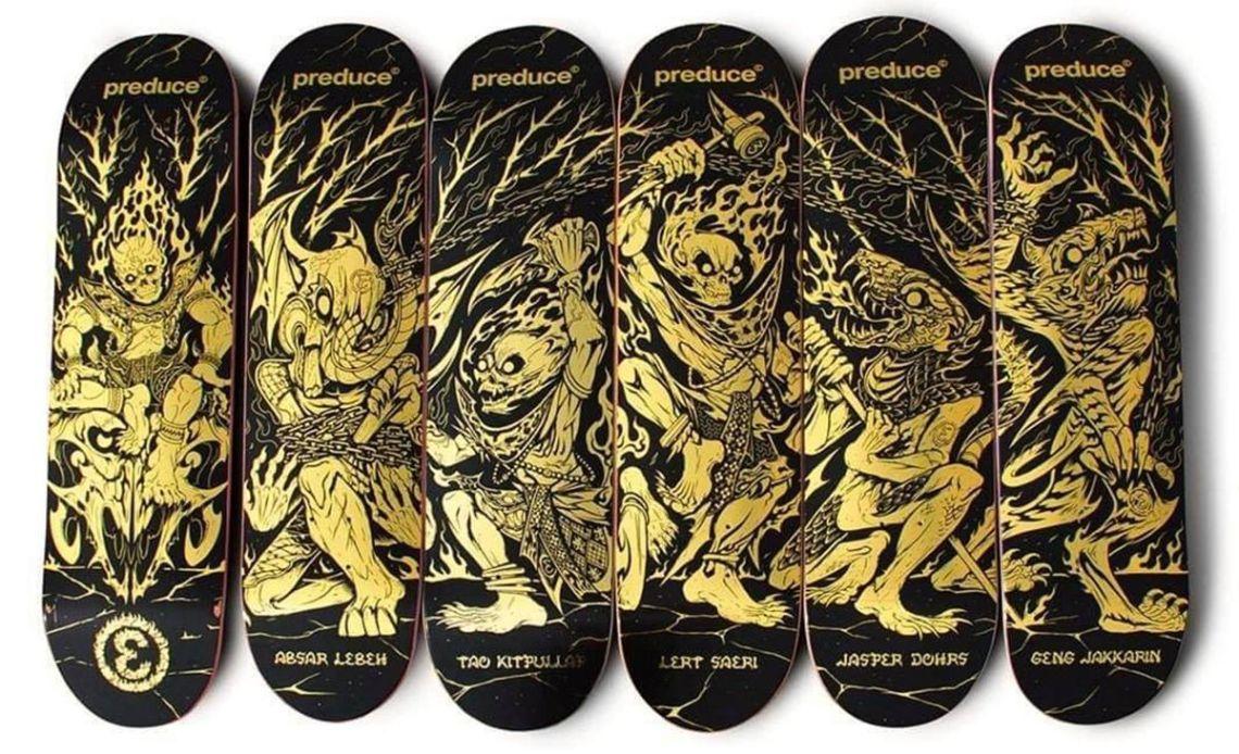 Nakara Series By Smith Phiromsank X Preduce Skateboards 9