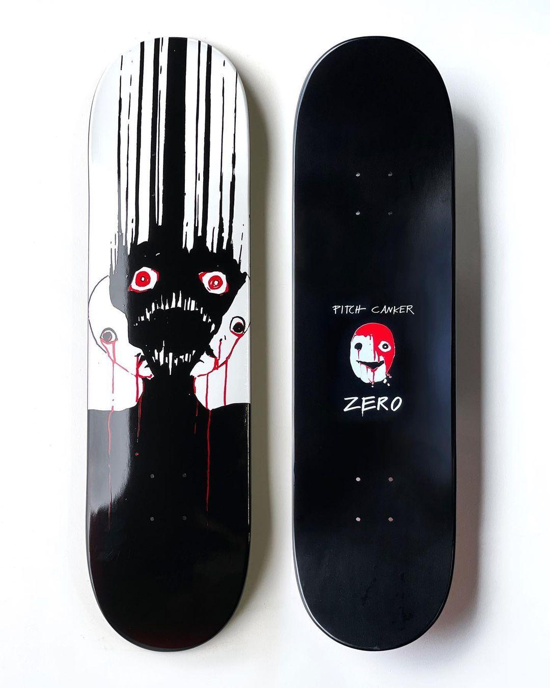 Pitch Canker X Zero Skateboards 7