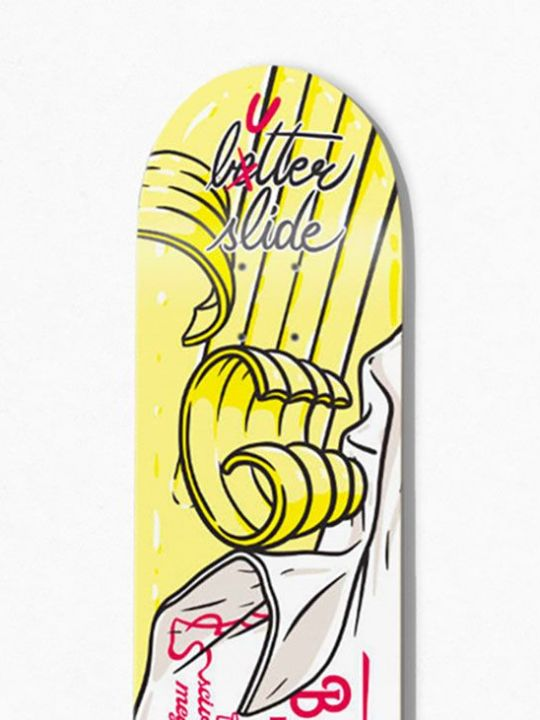 Burro Di Panna Skateboard By Cibo For Bonobolabo 1