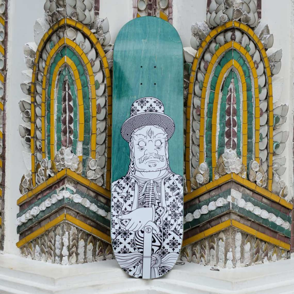 Stone Giants Deck Series By TR For Preduce Skateboards 6