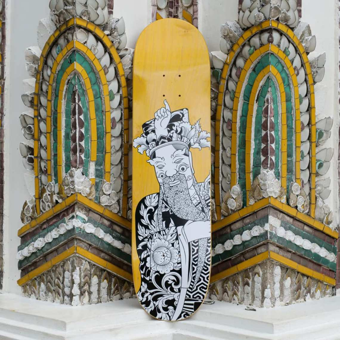 Stone Giants Deck Series By TR For Preduce Skateboards 8