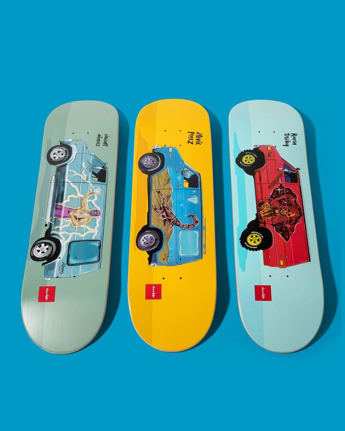 Chocolate City Vanners By Ben Petersen For Chocolate Skateboards 2