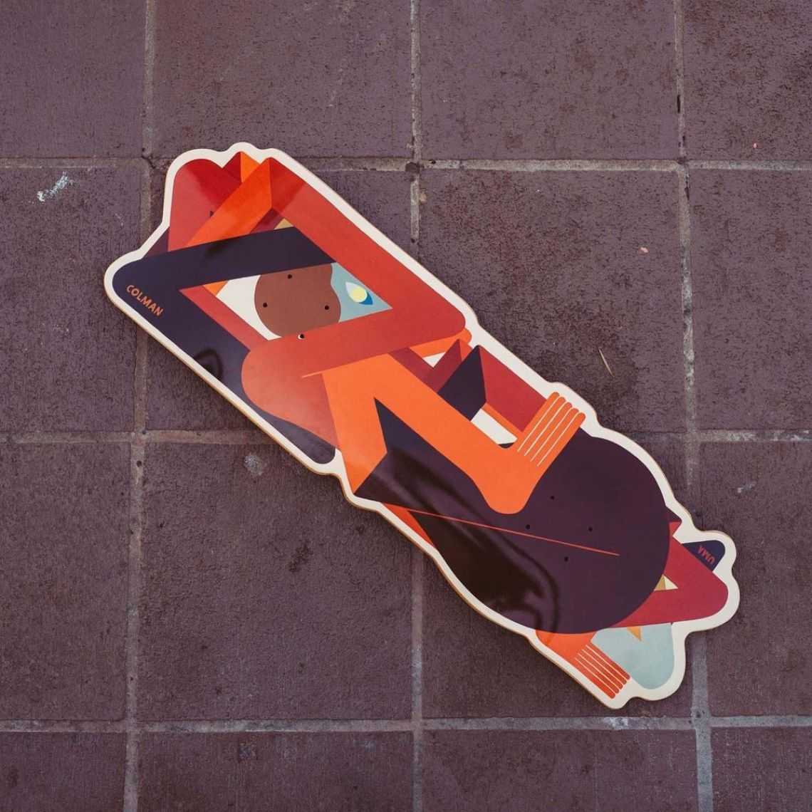 Crazy Special Edition By Richard Colman X Uma Skateboards 2