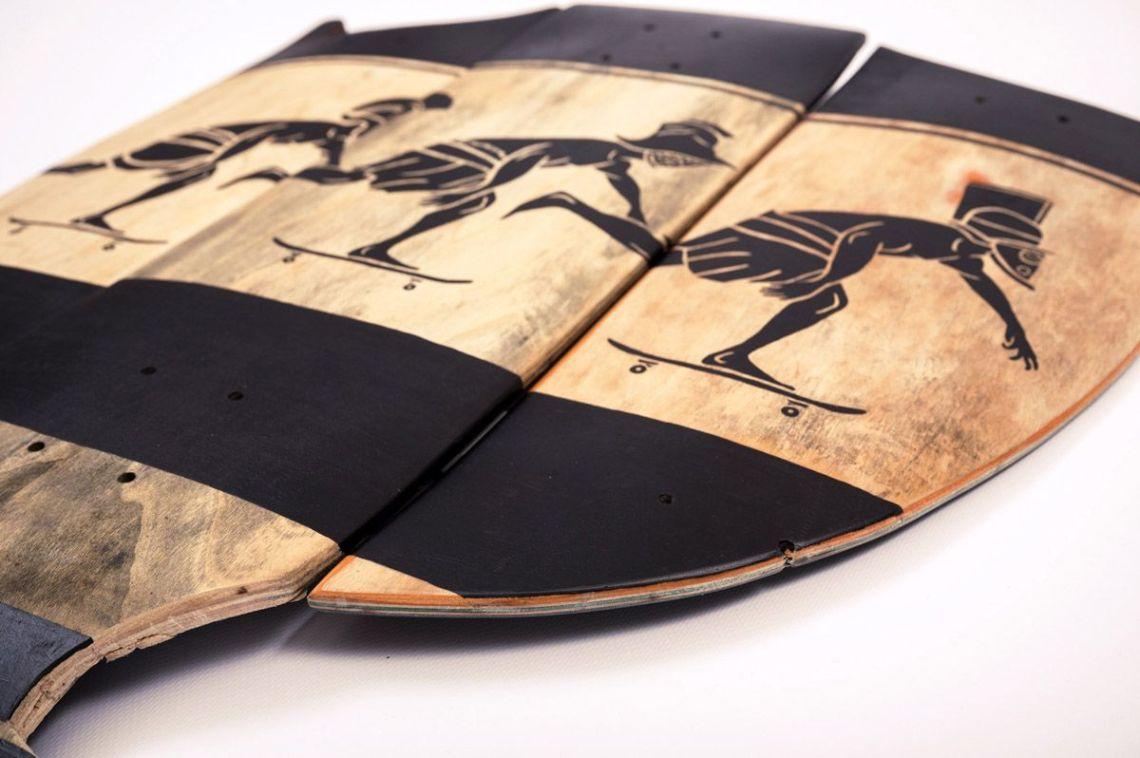Skunus Gladiatorium Skate Sculpture By Rom Avjc 6