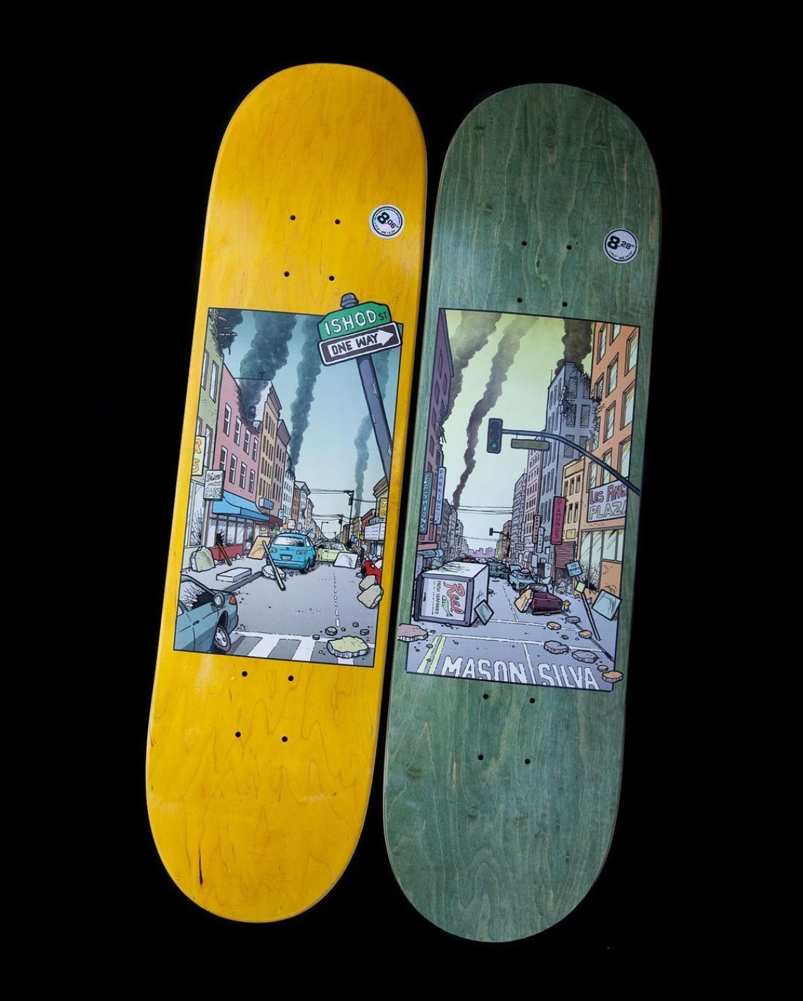 The Nice Neighborhood Series By Todd Francis For Real Skateboards 2