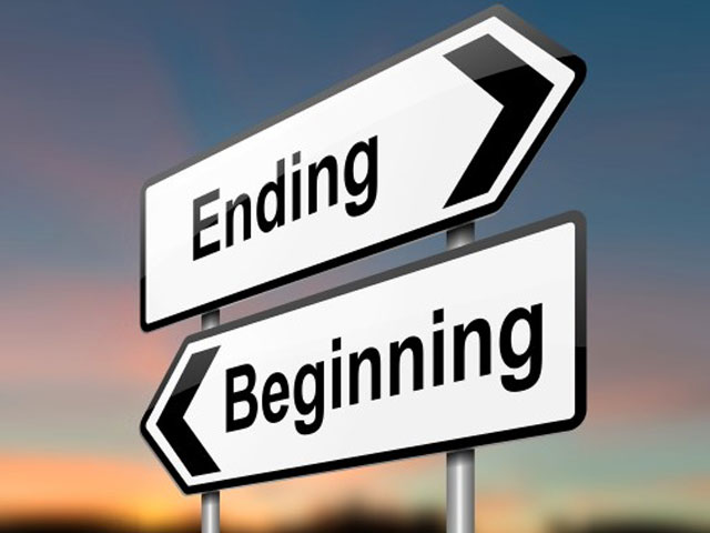 Beginnings and Ends. . .