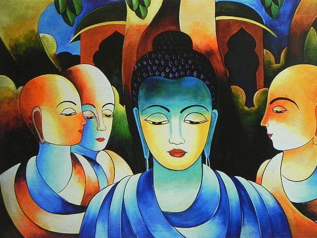 Buddha Struggle. . .